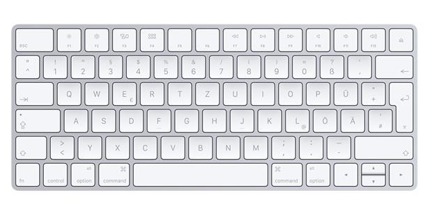 Apple Magic Keyboard - Deutsch