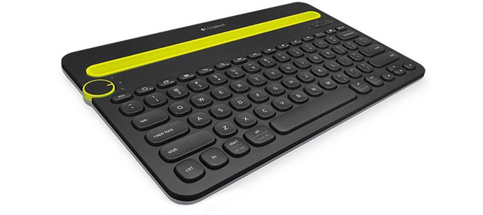 Logitech  BluetoothMulti Device Keyboard K480 Black