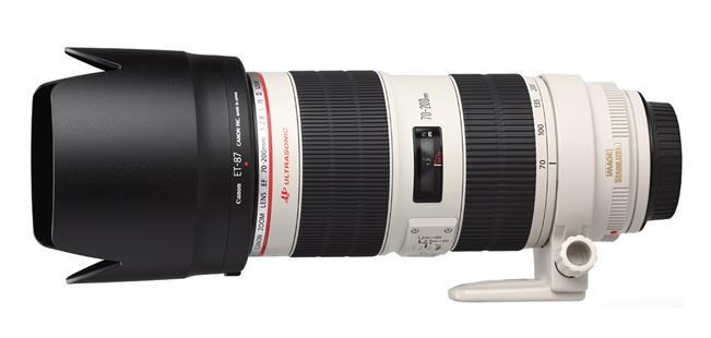 Canon EF 70-200mm, Blende 2,8, LIIUSM