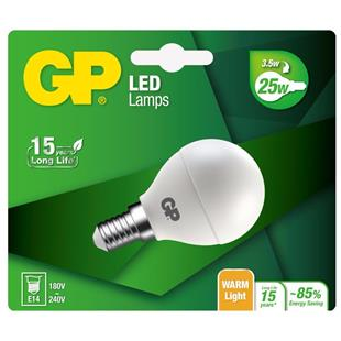 GP Lighting LED Mini Globe E14 3.5W 25W 250 lm
