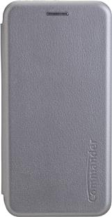 Peter Jäckel COMMANDER Book Case CURVE für Samsung Galaxy S9 Gray