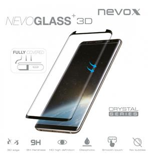 nevox NEVOGLASS 3D - Samsung S9 Plus curved glass ohne EASY APP schwarz