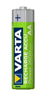 VARTA RECHARGE ACCU Endless AA 2500mAh / HR6 / 2er Pack