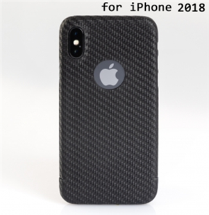 Carbon-Cover iPhone XR mit LogoWindow