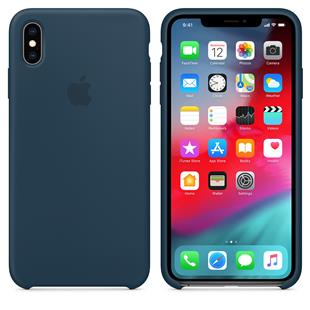 Apple iPhone XS Max Silicone Case - Pazifikgrün