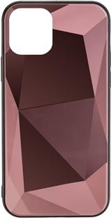 COMMANDER Glas Back Cover DIAMOND für Apple iPhone 11 Rose Gold