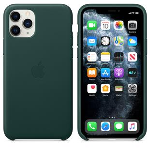 Apple iPhone 11 Pro Leder Case - Waldgrün