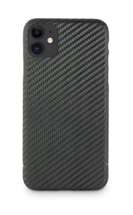 Carbon-Cover iPhone 11 mit Metalleinlage