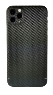 Carbon-Cover iPhone 11 Pro Max mit Metalleinlage