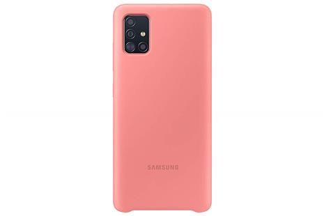 Samsung Silicone Cover Galaxy A51, pink