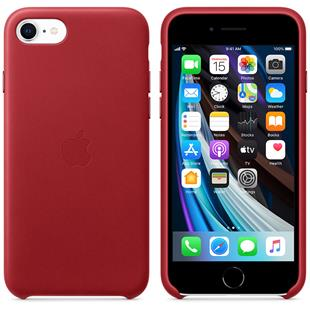 Apple iPhone SE Leder Case - (Produkt) Red