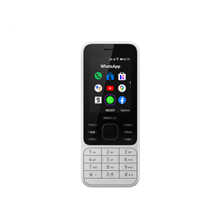 Nokia 6300 4G Dual-Sim 4 GB - Powder White