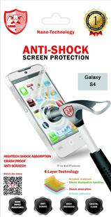 Anti-Shock Nanotech Screen Protector für Samsung Galaxy S4