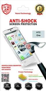 Anti-Shock Nanotech Screen Protector für HTC One