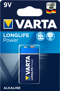 VARTA Batterie LONGLIFE Power 9V / 6LP3146